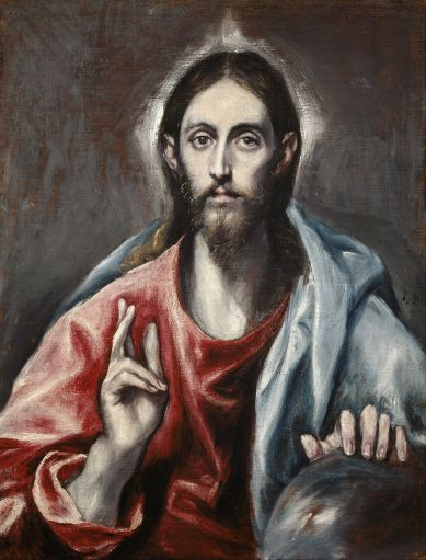 El_Greco_(Domenikos_Theotokopoulos)_-_Christ_Blessing_('The_Saviour_of_the_World')_-_Google_Art_Project