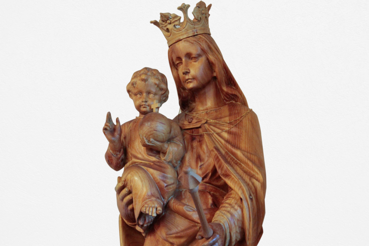 Our Virgen Mary Statue